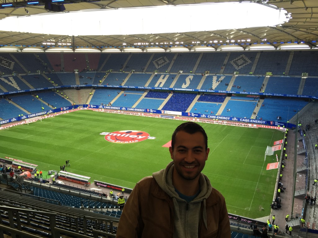 HSV fodbold stadion